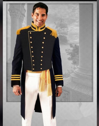 Single Piece Dress Designs NZ - Custom Court Knight Dress Groom Wedding Party Dress Up Ball Trailing Tuxedo Unique Design Retro Classic Set 2 Piece Jacket Pants