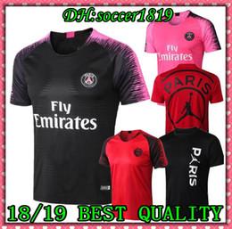 8066507e1 2019 PSG Soccer Training Shirts maillot de foot 18 19 MBAPPE Soccer Jerseys  Kit Survetement 2020 Paris saint germain football POLO shirts