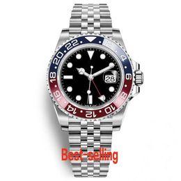 China Luxury Mens Watches Top Luxury Basel Red Blue Pepsi Automatic Mechanical Luxury Man Watches Luminous Business Waterproof Wristwatch cheap pepsi watch suppliers