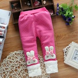 $enCountryForm.capitalKeyWord Canada - quality 2019 New Cartoon Print Long Pants Baby Girl Casual Winter Trousers Toddler Solid Elastic Waist Fashion Children Pants