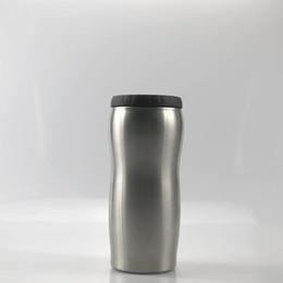 best kettles NZ - 12oz Can Cooler Stainless Steel tumbler Beer Cold Keeper beer curve shap cup Insulation Cans best Summer drinkware fedex