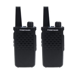 Discount ham two way radio transceiver - Vineyuan Walkie Talkie Mini Portable 3W 16 Channels UHF 400-470 MHz Two Way Radio Handheld Transceiver Ham CB Radios Int
