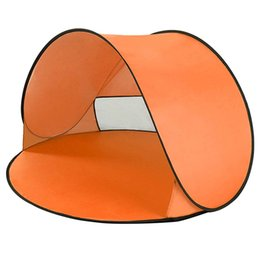 $enCountryForm.capitalKeyWord UK - Orange Outdoor Camping Tents Instant Up Tent Baby Beach Tent Cabana Portable Anti Uv Sun Shelter For Camping Fishing Hiking