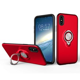 $enCountryForm.capitalKeyWord Australia - Perfect for iPhone X S phone case new Apple X magnet finger ring warwolf S10 car stand Samsung s9plus protective sleeve