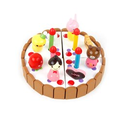 $enCountryForm.capitalKeyWord Australia - Wooden Cake Toys Set Role Play Toys for Children Learning and Educational DIY Toys Birthday Gifts for Kids