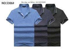 Cotton Thermal Wear Australia - 2019 Summer New Pattern Men's Wear T-shirt Man Colour Lapel Short Sleeve Polo