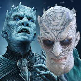 scary movie face mask 2019 - Hot Movie Game of Thrones Halloween Mask Night's King Walker Face NIGHT RE Zombie Latex Masks Party Masquerade Cosp