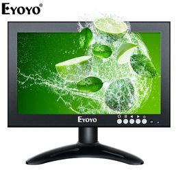 $enCountryForm.capitalKeyWord Australia - Eyoyo EM08G 8 inch Small HDMI LCD Monitor Portable 1280x720 16:9 IPS Metal Housing Screen Support HDMI VGA AV BNC Input for CCTV
