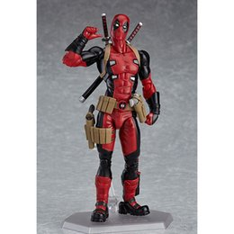 Minecraft Toys NZ - Figma 353 Deadpool Figure Marvel Hero Collectible Model Toys 15cm Y190604