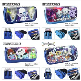 $enCountryForm.capitalKeyWord Australia - Cartoon Game Undertale Pencil Case Makeup Bag Zipper Pouch Students Stationery Pouch Pen Bag Cosplay Otaku Gift