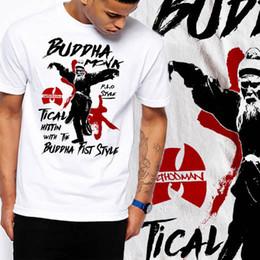 653f4593ec2013 Kung Fu Martial Arts Shaolin Wutang Buddha Samurai Akira Jiu Jitsu T-Shirt  Hoodie Hip Hop T-shirt Denim Clothes Camiseta T Shirt