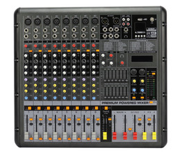 24bit Player Australia - 8Channels 24Bit digital Effect 48V phantom 2x380W USB Powered Mixer SMR838