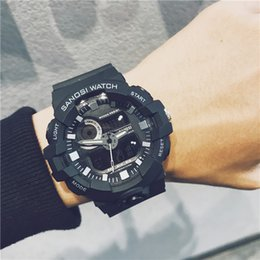 $enCountryForm.capitalKeyWord NZ - Urban Style Sport Mens Watches LED Multi-function Student Outdoor Wrist Watches Ladies Fashion Brand Watch Dropshipping Luxury Womens Watch