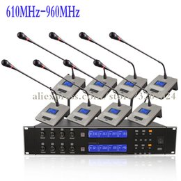 $enCountryForm.capitalKeyWord Australia - 8 Channel Wireless Family Corporate Conference Microphone System For Meeting Noise Canceling Desktop Standing Microphone