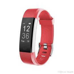 $enCountryForm.capitalKeyWord Australia - Sports GPS Tracker Smart Bracelet ID115HR Plus IP67 Waterproof Smart Remote Control Sleep Monitor Smart Wristbands