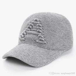 0777a2c059af3f Wool Adjustable Baseball Caps Australia - Men Fashion A Letter Baseball Cap  Plus Velvet European and