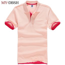 $enCountryForm.capitalKeyWord NZ - New Style Free Shipping Summer Female Casual Solid Color Polo Shirt Women Brand Slim Solid Short Sleeve Shirt Plus Size 5xl Q190426