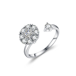 $enCountryForm.capitalKeyWord UK - White Bridal Wedding Ring 925 Sterling Silver Jewelry Promise rhinestone Engagement Rings For Women 2019 New