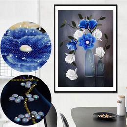 $enCountryForm.capitalKeyWord Australia - 5D DIY diamond painting flower vase cross stitch diamond embroidery flower mosaic diamond home decoration