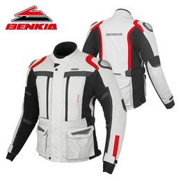 $enCountryForm.capitalKeyWord Australia - BENKIA 2018 New Men's Motorcycle Jacket Motocross Off-Road Jacket Warm Winter Waterproof Bag Jaqueta Motoqueiro HDF-JD80