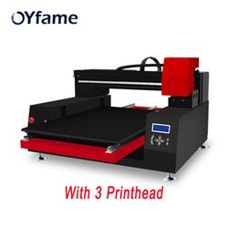 Wood Case For Glasses Australia - OYfame 6090 UV Flatbed Printer Automatic UV Printing Machine For Phone case glass acrylic wood leather With 3 Printer head