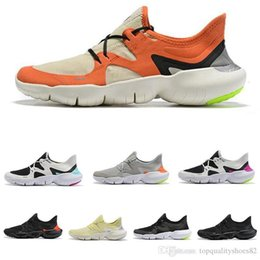 mens summer breathable shoes Australia - 2020 Free RN 5.0 Running Shoes Male Fashion Mens Trainer Summer Breathable RUN Women Lightweight Knit Sports Sneakers Size 36-45