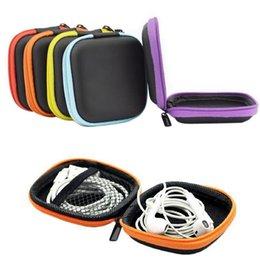 $enCountryForm.capitalKeyWord Australia - wholesale 1PC PU Digital Package Cosmetic Bag Passport Package Headphone Box Carrying Hard Earphone Bag makeup