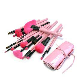 $enCountryForm.capitalKeyWord Australia - 24pcs Cosmetic Makeup Brushes Set Powder Foundation Eyeshadow Eyeliner Lip Brush Tool Brand Make Up Brushes Beauty Tools