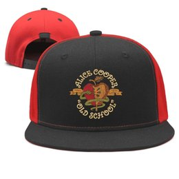 $enCountryForm.capitalKeyWord NZ - Alice-Stream-Cooper,Old-Release Design Snapback Flatbrim Baseball Caps Hip-Hop Sun Hats Adjustable Novelty