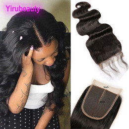 5x5 middle part lace closure NZ - Indian Virgin Hair Lace Closure With Baby Hair 5X5 Closure Middle Three Free Part Body Wave 5*5 Lace Closure