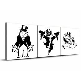 $enCountryForm.capitalKeyWord UK - Alec Monopol Graffiti ,3 Pieces Home Decor HD Printed Modern Art Painting on Canvas  Unframed Framed