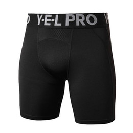 $enCountryForm.capitalKeyWord NZ - Men Compression Shorts Base Layer Thermal Skin Bermuda Shorts Gyms Fitness Men Cossfit Bodybuilding Tight