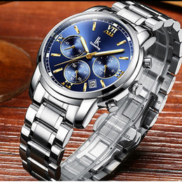 $enCountryForm.capitalKeyWord Australia - IK Brand Gold Black Multi-Function Men Watch Stainless Steel Chronograph 24 Hours Luxury Business Watch Men clock gif