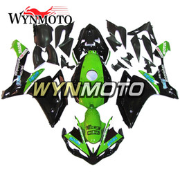 $enCountryForm.capitalKeyWord Australia - Motorcycle Fairings For Yamaha YZF 1000 R1 2007 2008 Green Black ABS Plastic Injection motorbike cowlings covers