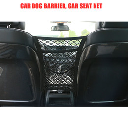 back seat storage organizer Canada - Three layers Car Organizer Net Seat Back Storage Elastic Mesh Bag Luggage Holder Pocket Vehicles Car Styling