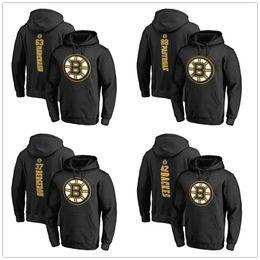 2019 Stanley Cup Playoffs Boston Bruins Hoodie Patrice Bergeron Backes David Pastrnak Brad Marchand Hockey Hombre Diseñador Sudaderas con capucha impresas en venta