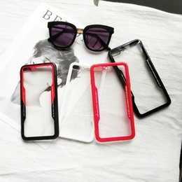 Iphone 6s Plus Case Clear Design Australia - Soft Trsnaparent Cases for IPhone XR XS MAX 8 7 6 7Plus 6S I Phone 8plus Cradle Design Phone Shell Case Clear Back Cover 200pcs