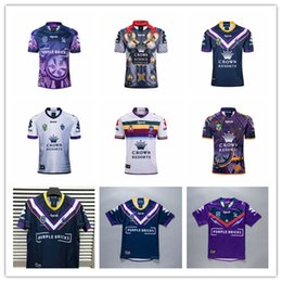 Storm Shirt online shopping - Hot sales melbourne storm home rugby Jerseys National Rugby League shirt jersey MELBOURNE STORM shirts s xl