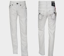 $enCountryForm.capitalKeyWord Australia - Wild true religions men Brand Fashion brand mens clothing Washed Hole Riding jeans true luxury Micro-bomb Slim pants man cowboy Loose pants