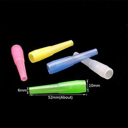 Disposable Shisha Pipes Wholesale Australia - Hookah Shisha Test Finger Drip Tip Cap Cover Plastic Disposable Mouthpiece Mouth Tips Healthy for E-Hookah Water Pipe Individual Package