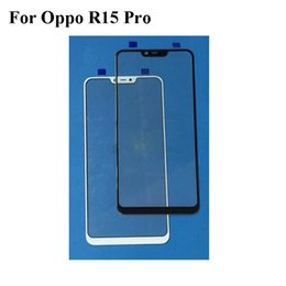 $enCountryForm.capitalKeyWord Australia - 2PCS For Oppo R15 Pro R 15 Pro Front Outer Glass Lens Repair Touch Screen Outer Glass without Flex cable For Oppo R15Pro