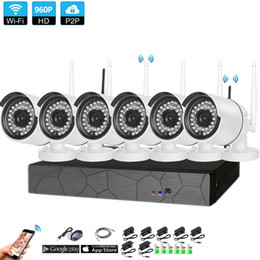 $enCountryForm.capitalKeyWord Australia - Classic H.265 6PCS Home Wireless CCTV Security System 6CH 960P NVR 1.3MP IR-CUT In Outdoor P2P Wifi IP Weatherproof Camera Surveillance Kit