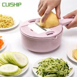 $enCountryForm.capitalKeyWord Australia - Multi-function vegetable cutting machine kitchen stainless steel blade grinder round mandala slicer potato slicer kitchen meat grinder