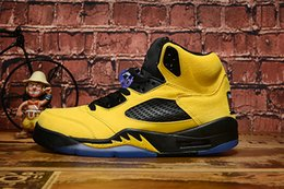 Wholesale Retro Big Kids Men s Michigan Inspire Basketball Shoes On Sale Amarillo College Navy Sneaker Sports Sneakers Jumpman Shoe Size Y US13