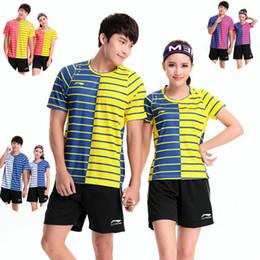 Sportswear T Shirt Badminton Australia - LNB6 Li Ning Badminton Suit Sportswear for Men & Women Short Sleeve T-shirt Leisure Running Basketball casual wear Table tennis LN2098