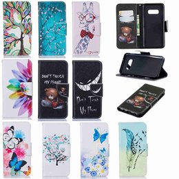 S4 Wallet Cases Australia - Case For Samsung Galaxy S10e S10 S8 S9 Plus S6 Edge S5 S4 S3 Wallet Card Holder Full Body Cases PU Leather
