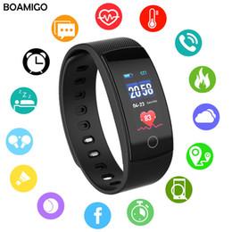 $enCountryForm.capitalKeyWord Australia - Smart Watches Boamigo Brand Bracelet Wristband Bluetooth Heart Rate Sleep Monitoring For Ios Android Phone Sport Fitness Watch Y19070603