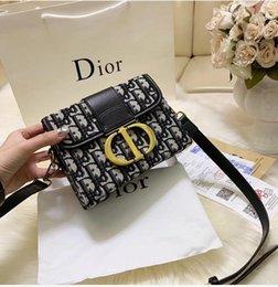 Groihandel ww Fashion Luxury klassische Frauen-Beutel Drucken Brief-Ketten-Beutel echte Qualitäts-Leder-Karten-Mappen-Umhängetasche-Geldbeutel-Schulter-Kurier