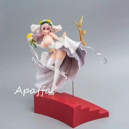 hot girls model Australia - Hot Sale Super SONICO Luxury Wedding Dress Ver Sexy Girls Action Figure Japan Anime Adult Collectible Model Toy Doll Gift T200609