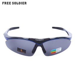 climbing goggles 2019 - FREE SOLDIER Polarizing Unisex Lightweight Cycling Glasses Eyewear Goggles for Outdoor Sports Hiking Climbing discount c